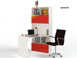 Стол-стеллаж Champion (красная) изображение 2