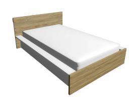 Кровать Junior BU-0190 (01100, 01110) с рисунком