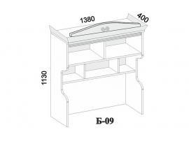 Полка на стол Б-09 изображение 3