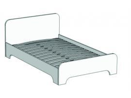 Кровать отдельностоящая Junior BA-0190 (01120) с рисунком