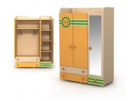 Трехдверный шкаф Bs-03