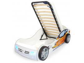 Кровать машина Champion (оранжевая) изображение 4