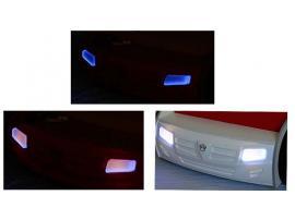Кровать машина Champion (синяя) изображение 9