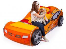 Кровать машина Champion (оранжевая) изображение 3