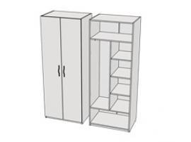 Шкаф комбинированный Teenager CL03, CLH03