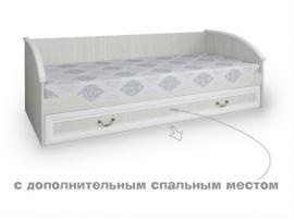 Кровать нижняя с дополнительным спальным местом Классика изображение 1