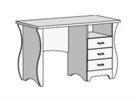Стол письменный с 3 ящиками Classic CF-0335Q изображение 2