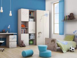 Шкаф 2-дверный с рисунком 2piR изображение 2