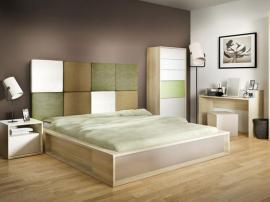 Изголовье кровати прямоугольное 3D изображение 3