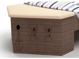 Ящик для игрушек приставной Пират изображение 1