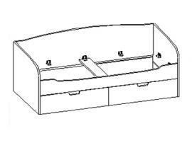 Кровать с ящиками 30.200 изображение 1