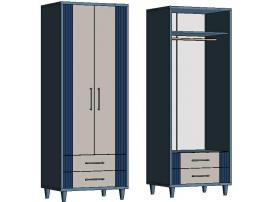 Шкаф со штангой и 2-мя ящиками EC470Q Elegant
