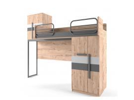 Кровать-чердак малая Твист Лофт изображение 1