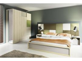 Изголовье кровати прямоугольное 3D изображение 2