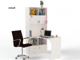 Стол - стеллаж Princess (белая) изображение 1