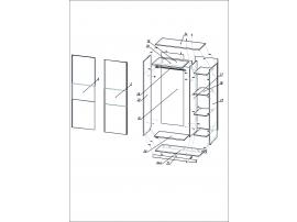 Шкаф-купе Твист изображение 2