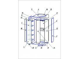 Шкаф угловой Беби-бум изображение 2