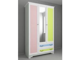 Шкаф 3-х дверный Классика Карамель