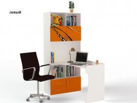 Стол - стеллаж Formula (оранжевая) изображение 1