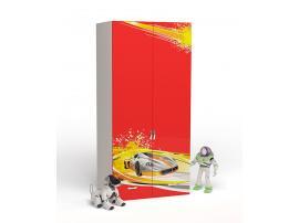Шкаф 2-х дверный Champion (красная) изображение 1