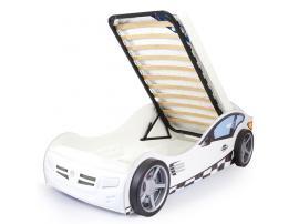 Кровать машина Formula (белая) изображение 4