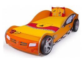 Кровать машина Formula (оранжевая) изображение 1
