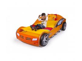 Кровать машина Formula (оранжевая) изображение 2