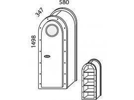 Шкаф Н-8 Наутилус изображение 3