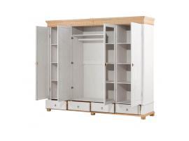Шкаф 4-х дверный Хельсинки 4SP-M, 4GT-M, 4SPGT-M изображение 10