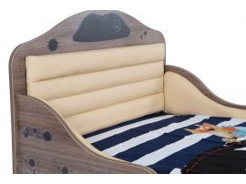 Кровать Пират №2 с высоким изножьем изображение 3