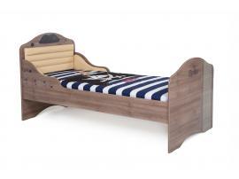 Кровать Пират №2 с высоким изножьем изображение 1