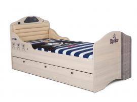 Кровать Пират №2 с высоким изножьем изображение 2