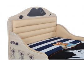 Кровать Пират №2 с высоким изножьем изображение 4