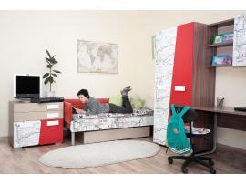 Чехол на изголовье и боковую стенку кровати изображение 4