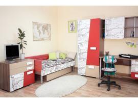 Чехол на изголовье и боковую стенку кровати изображение 2