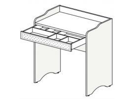 Столик туалетный Белоснежка (без рисунка) 93S103