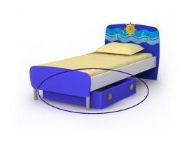 Ящик выкатной маленький (1шт) к кровати Od-11-1