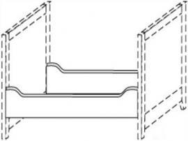 Царги кровати Сиело изображение 2