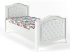 Кровать с каретной стяжкой Классика изображение 1
