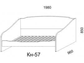 Диван Кн-57 с ящиками Кн-58 Капитанъ изображение 3