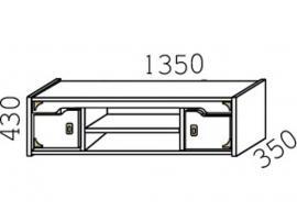 Полка навесная Кн-40 Капитанъ изображение 4