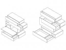 Комод с ящиками HiFi изображение 5