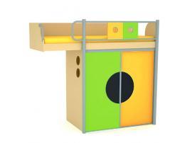 Кровать-чердак Выше радуги изображение 1