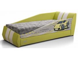 Диван-кровать LAMBIC (Ламбик) желтый изображение 1