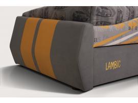 Диван-кровать LAMBIC (Ламбик) серый изображение 6
