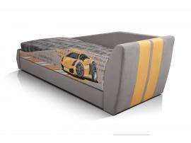 Диван-кровать LAMBIC (Ламбик) серый изображение 8