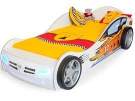 Кровать машина Champion (белая) изображение 1