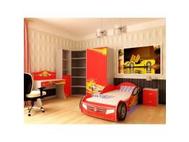 Кровать машина Champion (красная) изображение 6