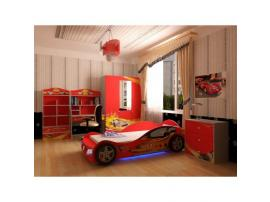 Кровать машина Champion (красная) изображение 7