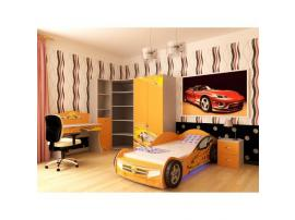 Кровать машина Champion (оранжевая) изображение 6